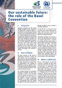 Our sustainable future: the role of the Basel Convention