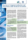 The role of competent authorities and focal points under the Basel Convention